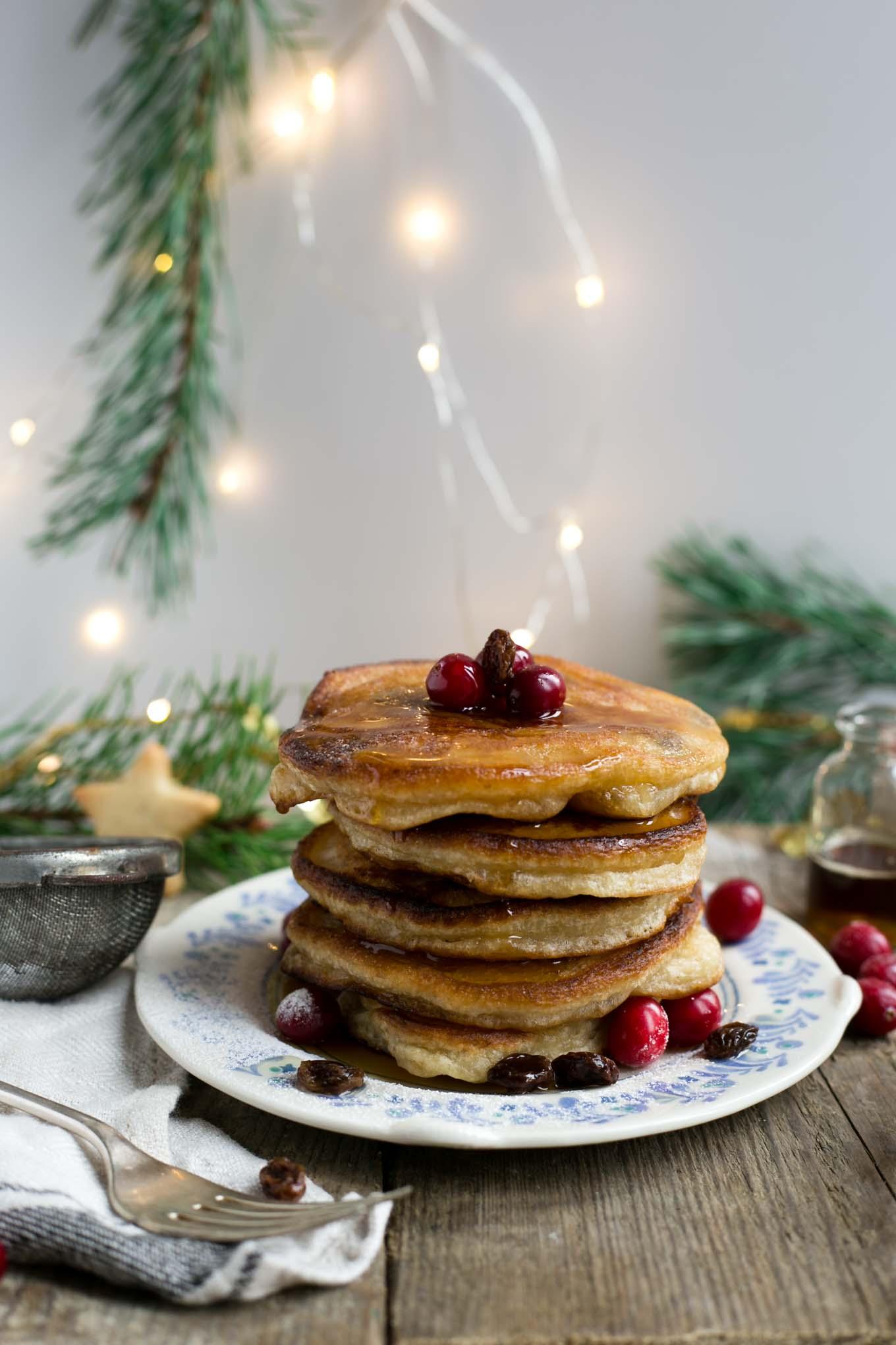 Cranberry Pancakes -