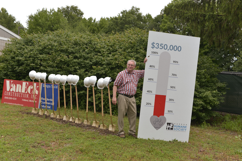 Breaking Ground at Harbor Humane Society