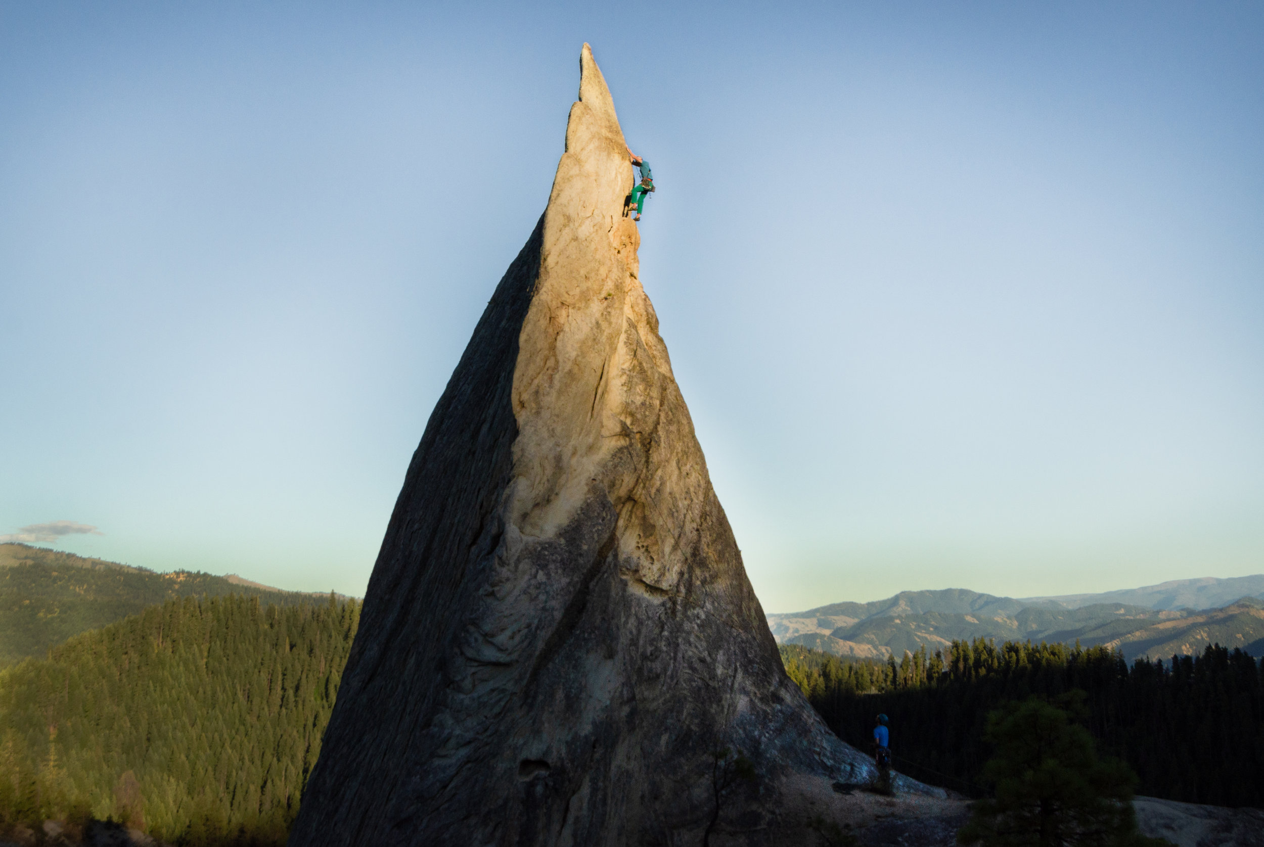 Featured Photo for Climbing Magazine