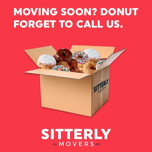 Life's a hole lot sweeter with professional movers. Happy National Donut Day! We're definitely celebrating in the office 🍩