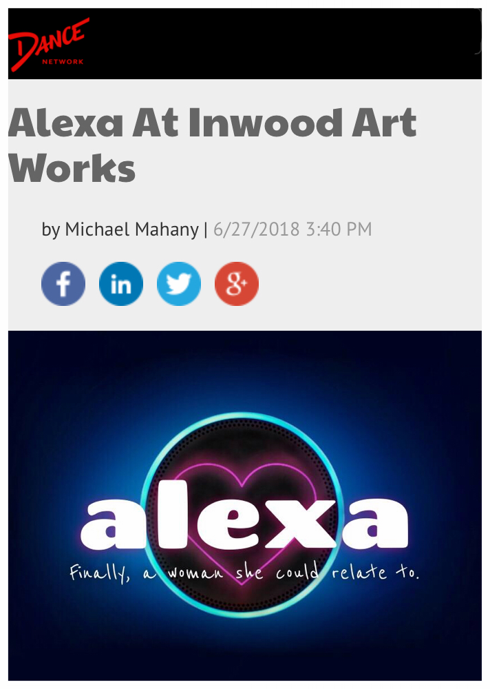 Alexa featured on Dance Network! -