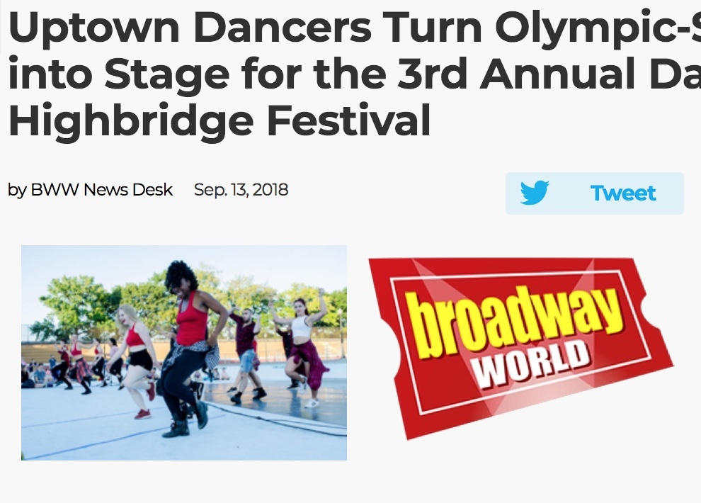 ThruLines performs at the 2018 Danza Highbridge Festival! -
