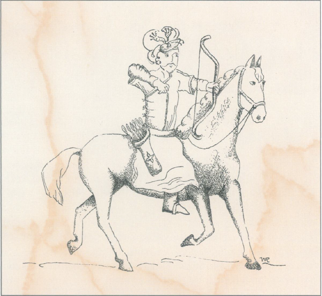 In his hallmark paper, Callaway describes that the Mongolian empire took over much of the old world with the invention of the recurved bow. Their opponents couldn't cope with the novel weapon, which led to the empire's dominance.  Callaway 2004 .