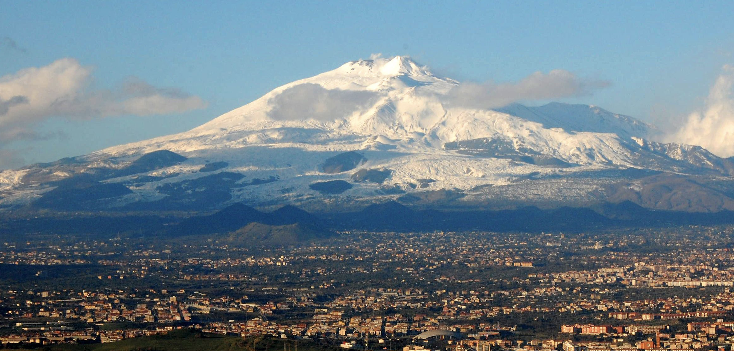 The beautiful, the massive, Mount Etna.