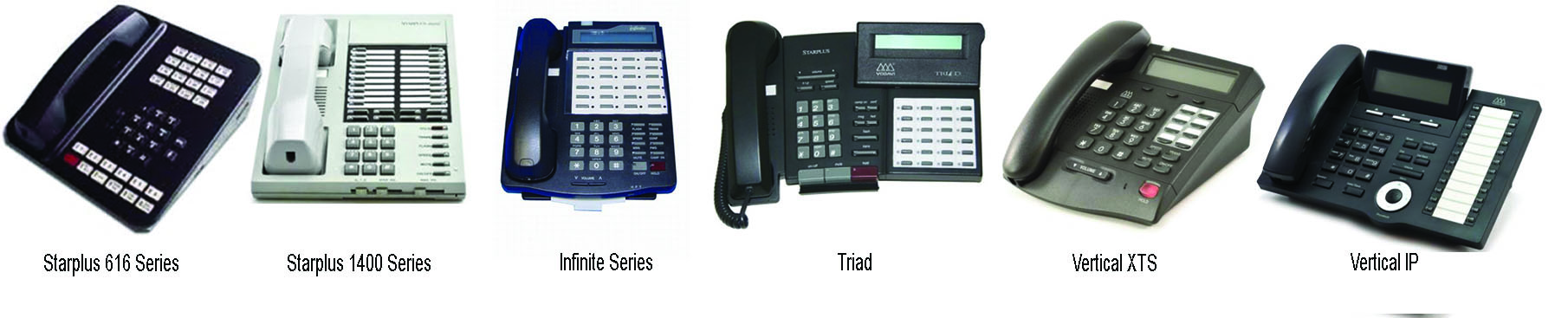 Vodavi Office Telephone Styles