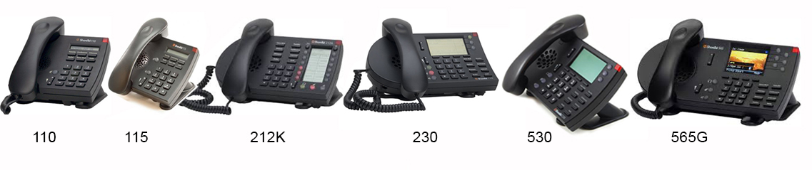 We have replacement handsets for these Shoretel business phone models.