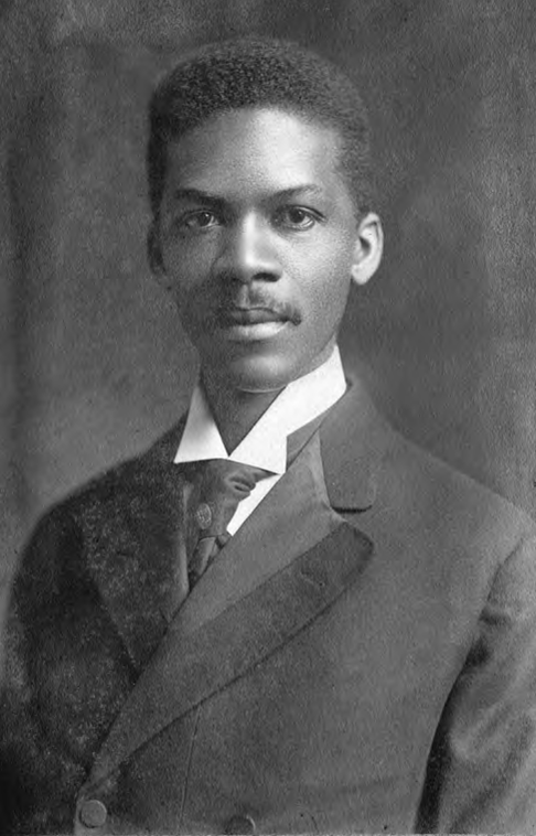 Louis G. Gregory as a young man, probably on graduating from Fisk University, 1896