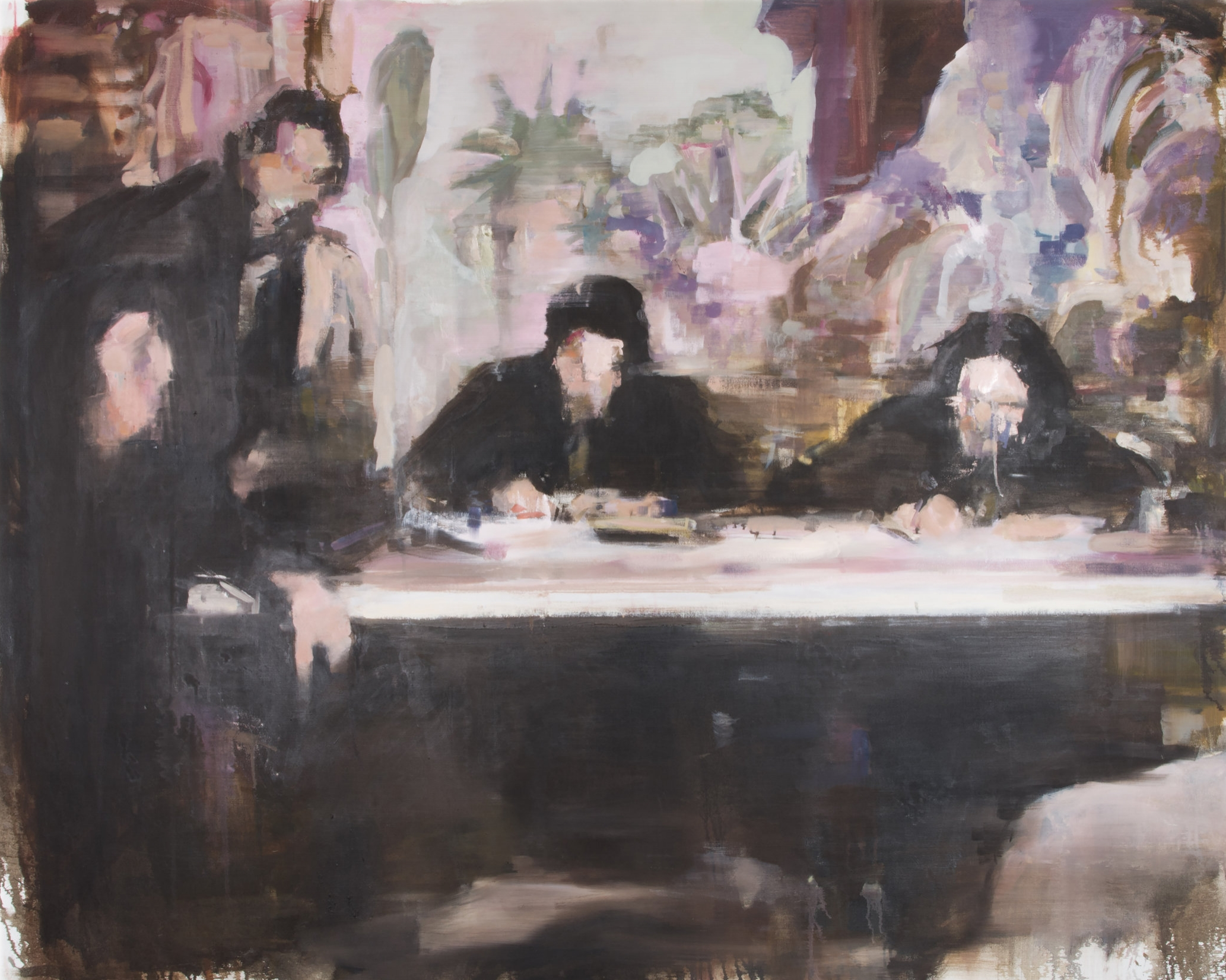 Consequences of Confirmity #2 / 2014 / Oil on canvas / 200cm x 160cm