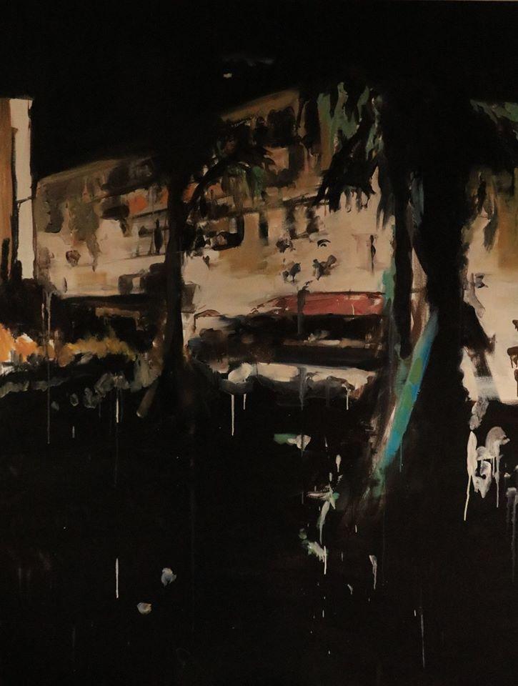 """""""Nice"""" , 190 x 145, oil on linen, 8/2016"""