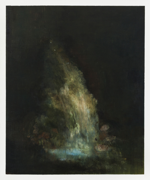 The Source (2017) - acrylic on canvas - 90x70cm