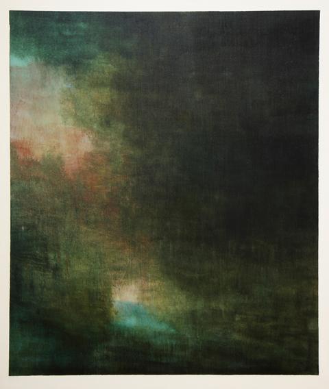 The Source (2017) - acrylic on canvas - 130x110 cm