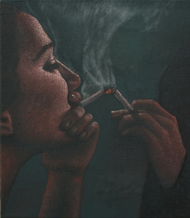 2017, oil on canvas, 40 x 35 cm