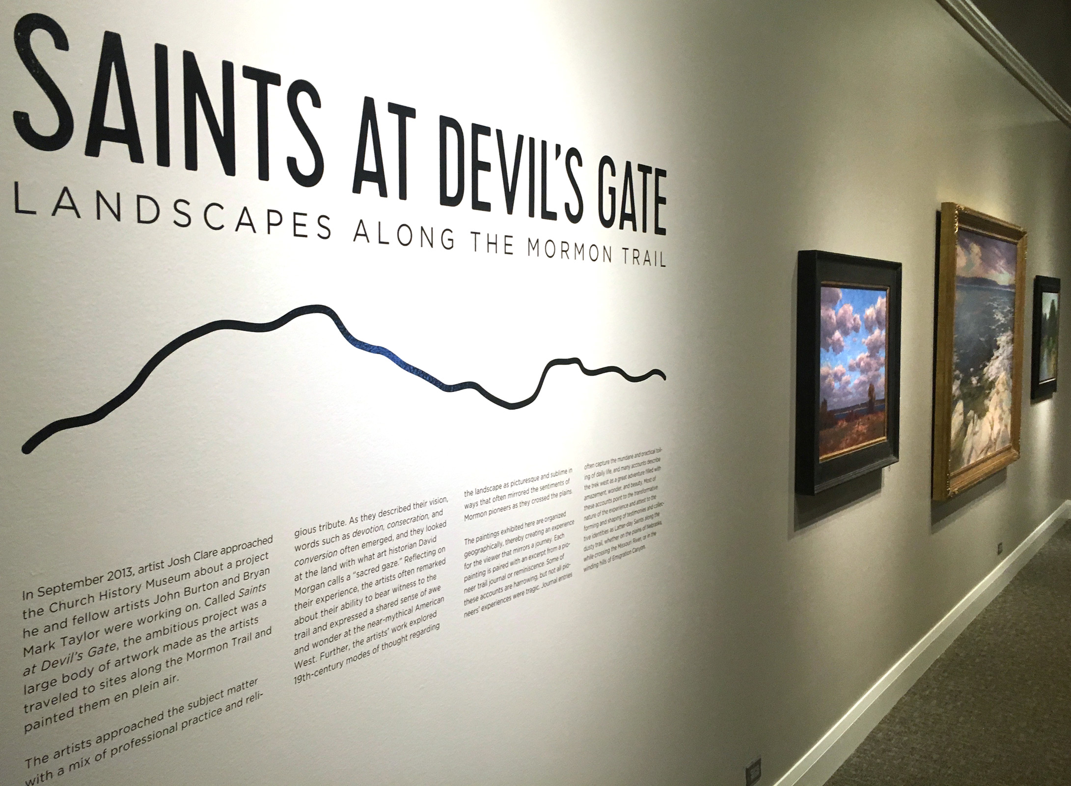 An introduction to the Saint's at the Devil's Gate Exhibit at the Church History Museum