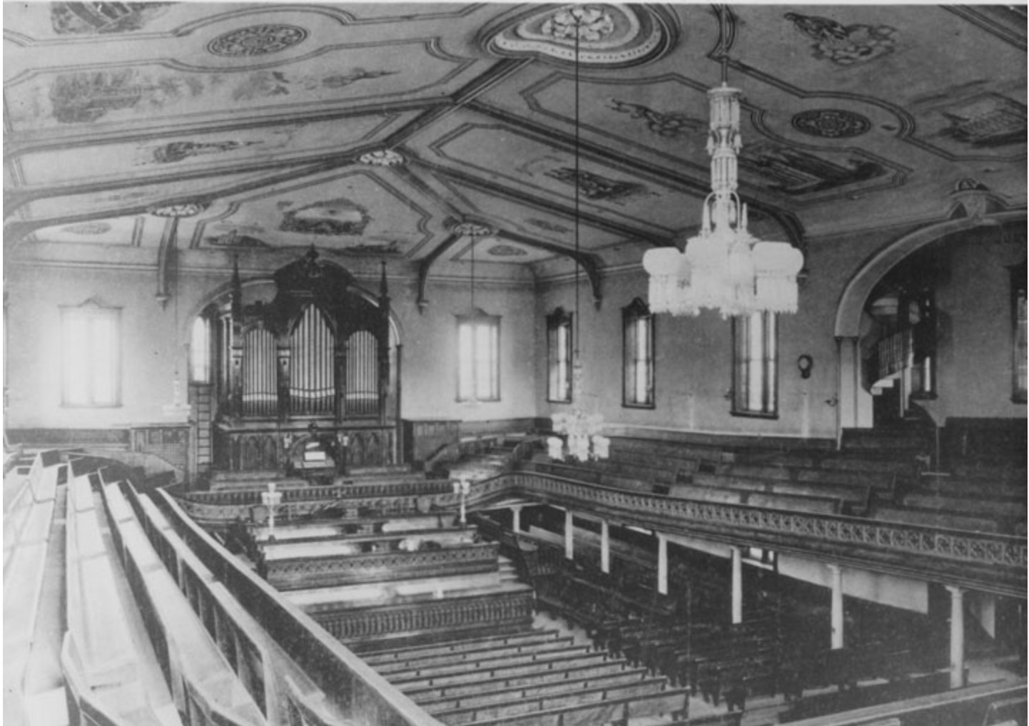 The Interior of the Salt Lake Assembly Hall