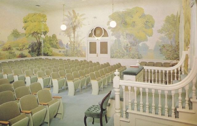 The Garden Room. Salt Lake City Temple, c. 1970.