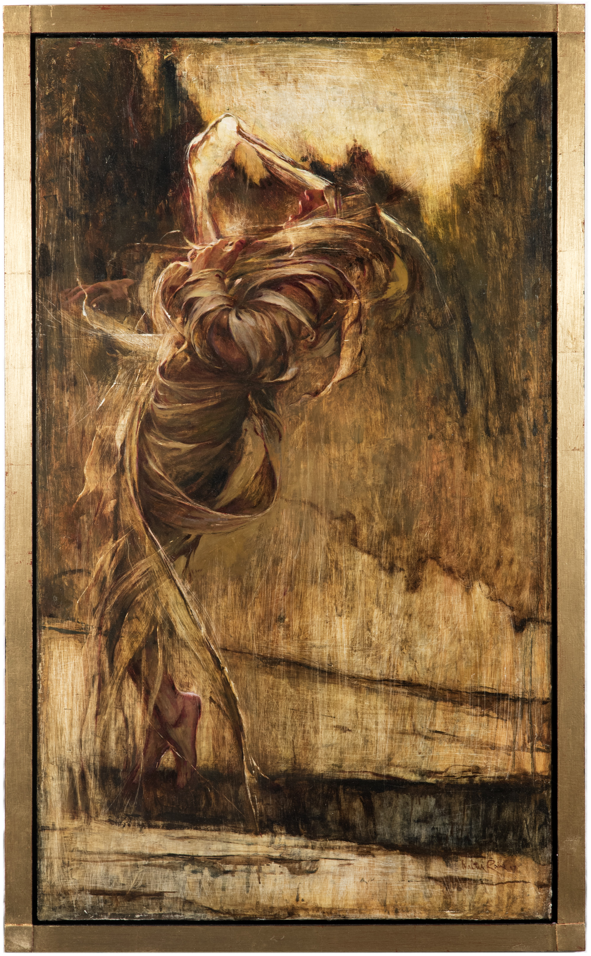 Breath of Life  by Walter Rane. Oil on Canvas. 48 x 28 in. From the Zion Art Invitational.
