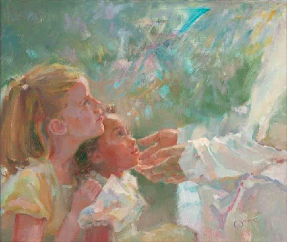Anne Marie Oborn. Children of Light.