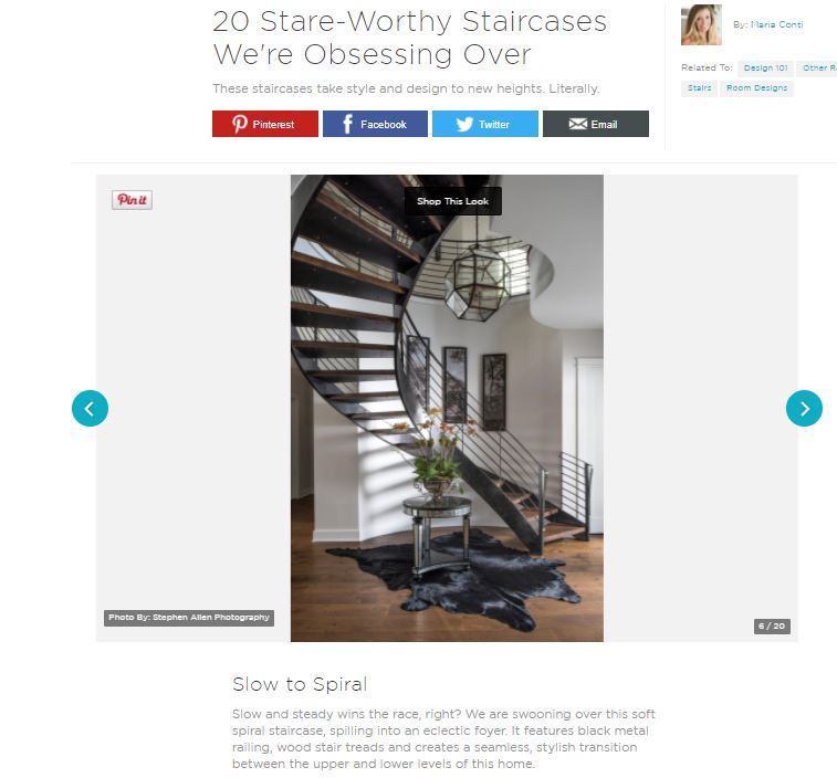 HGTV Top Stare-Worthy Stairs