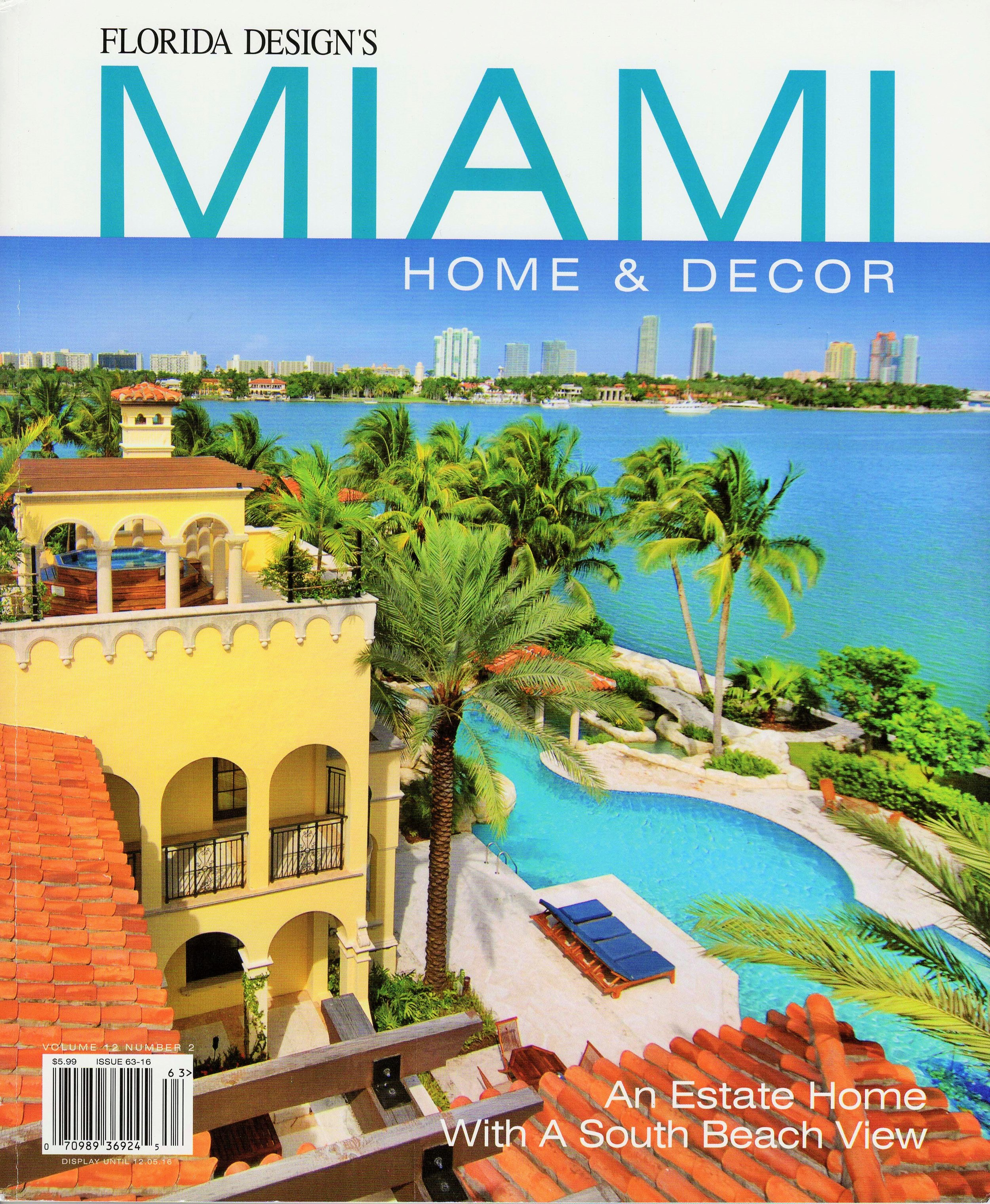 Miami Home & Decor Magazine