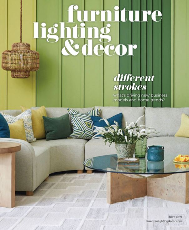 John McClain Furniture Lighting and Decor article