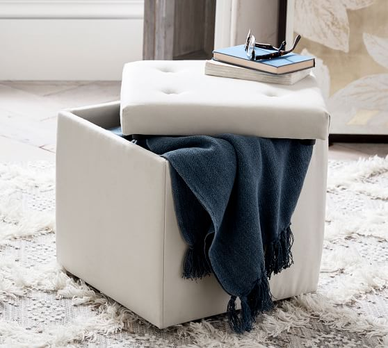 Storage Ottoman from Pottery Barn  $129