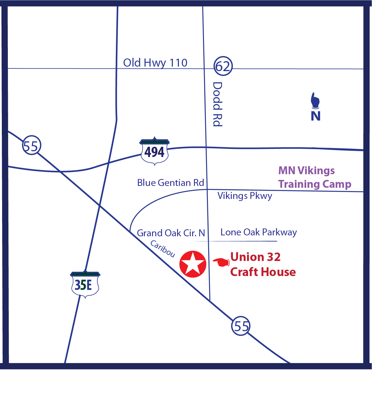 Map w Vikings location Hwy62.png