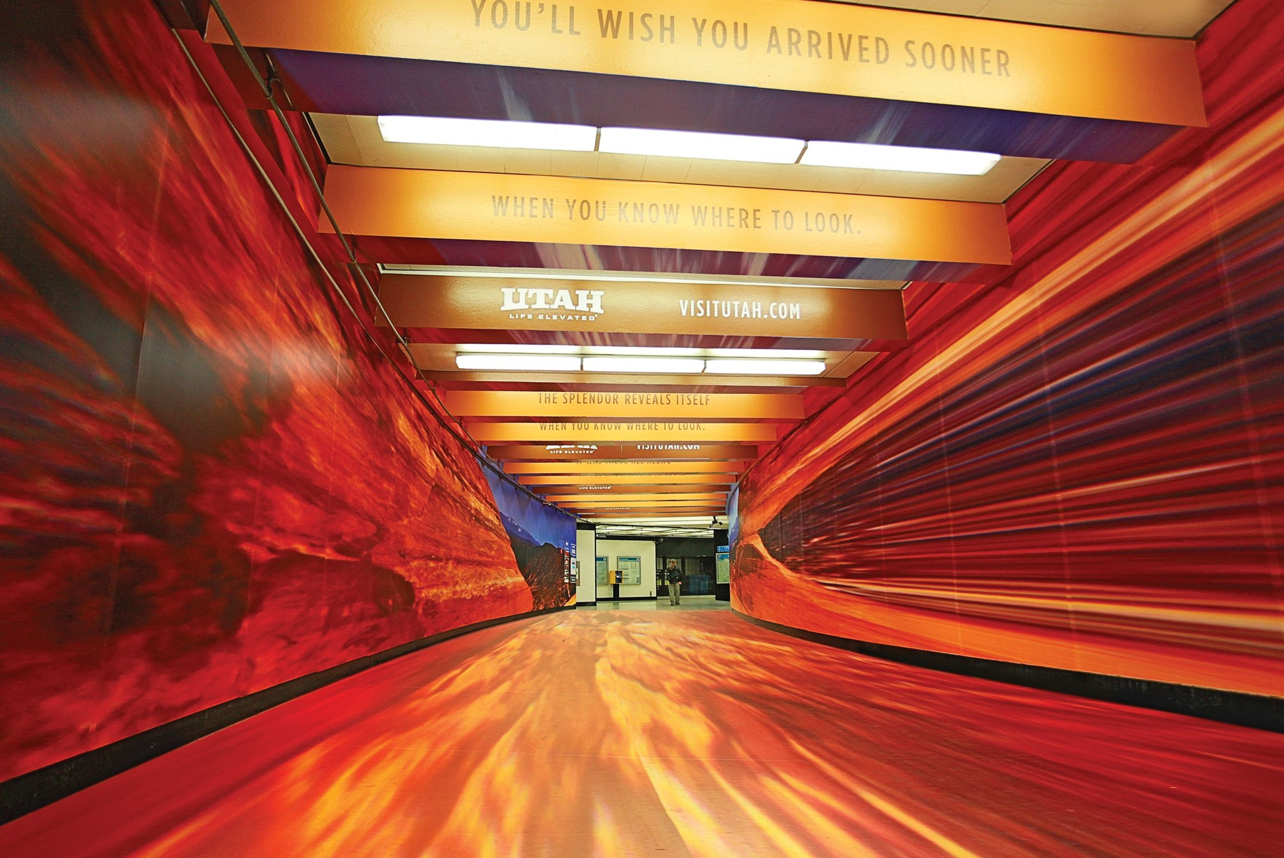 The Montgomery Tunnel - You'll Wish You Arrived Sooner