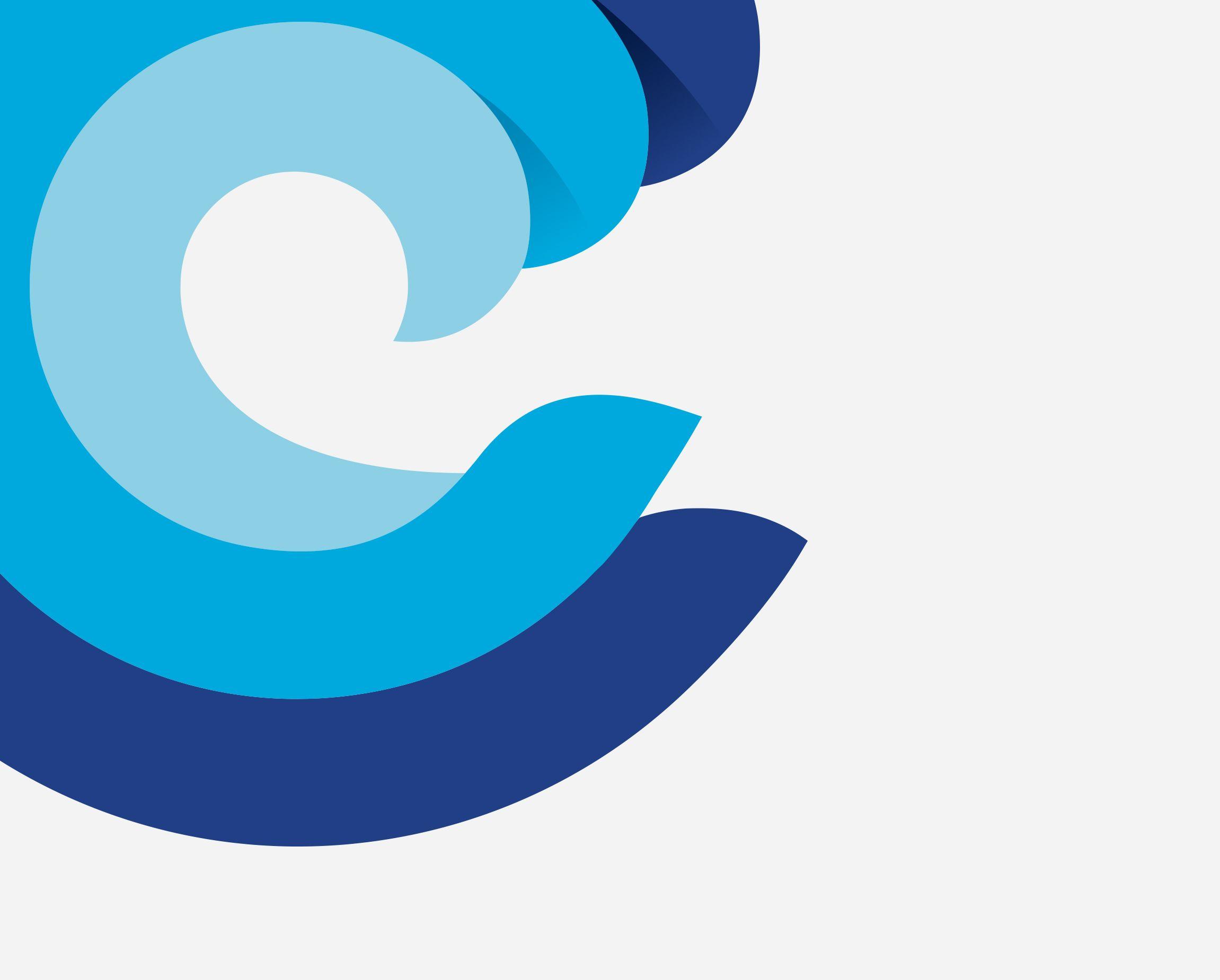 Large C Wave Logo for Catalina Island