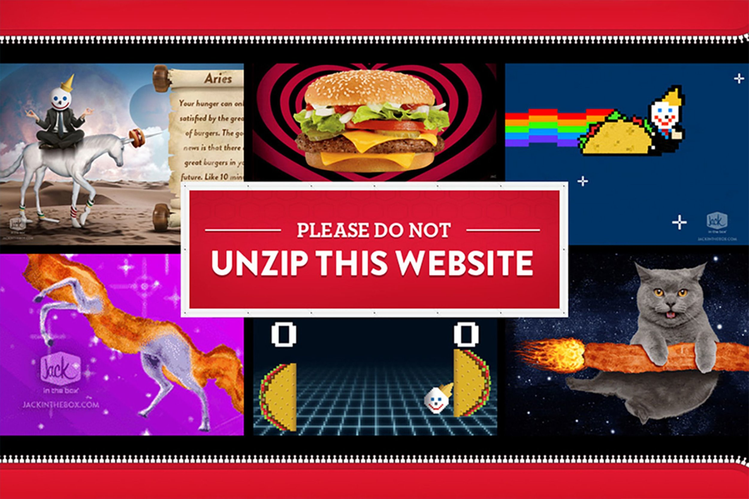Please Do Not Unzip This website page