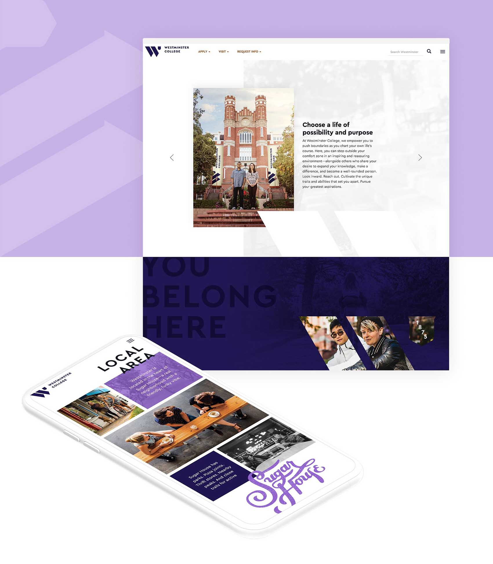 Westminster Web and Mobile-friendly site