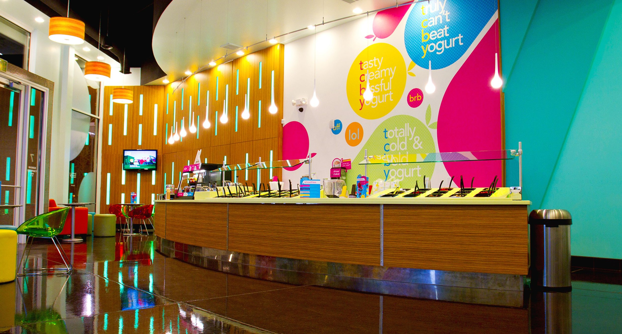 TCBY Toppings Bar