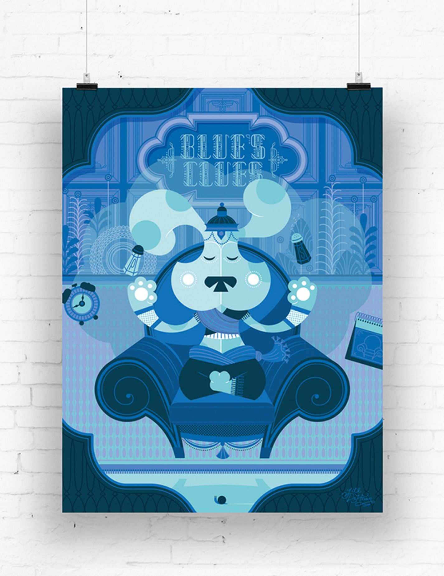 Blue's Clues Poster