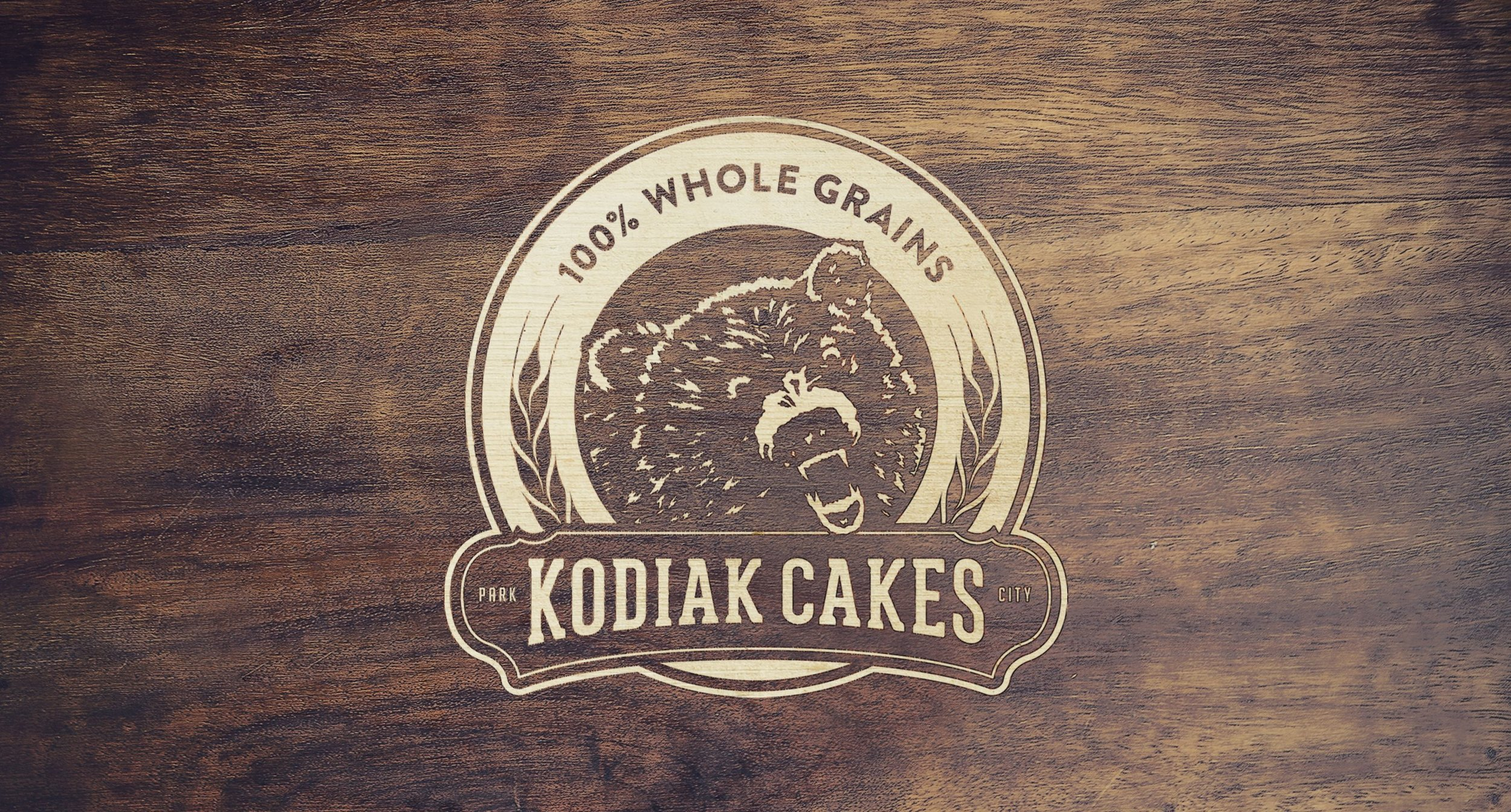 Kodiak Logo on Wood