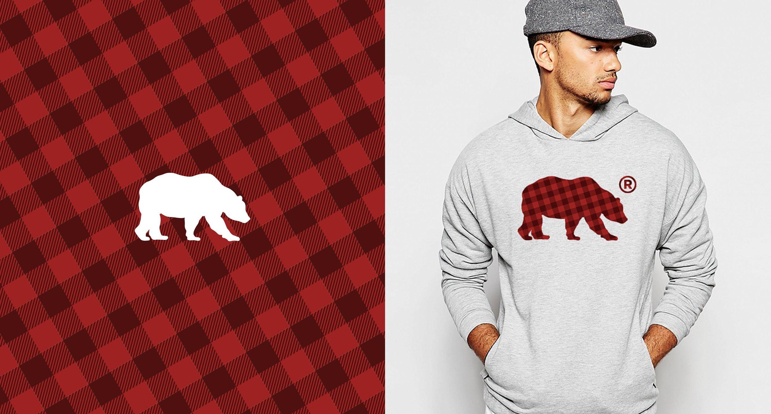 Kodiak Bear Logo and Apparel