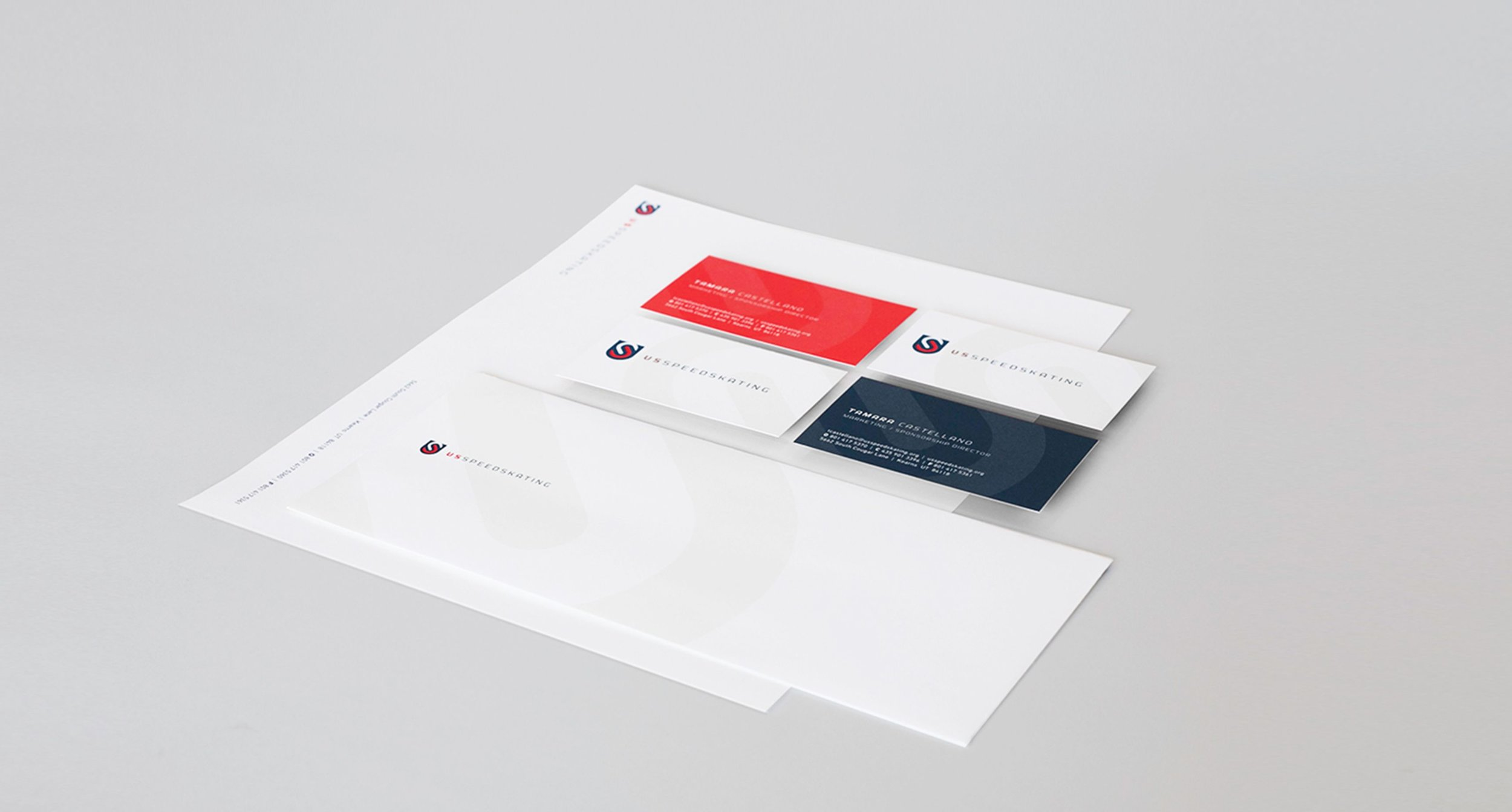 U.S. Speedskating Paper Collateral