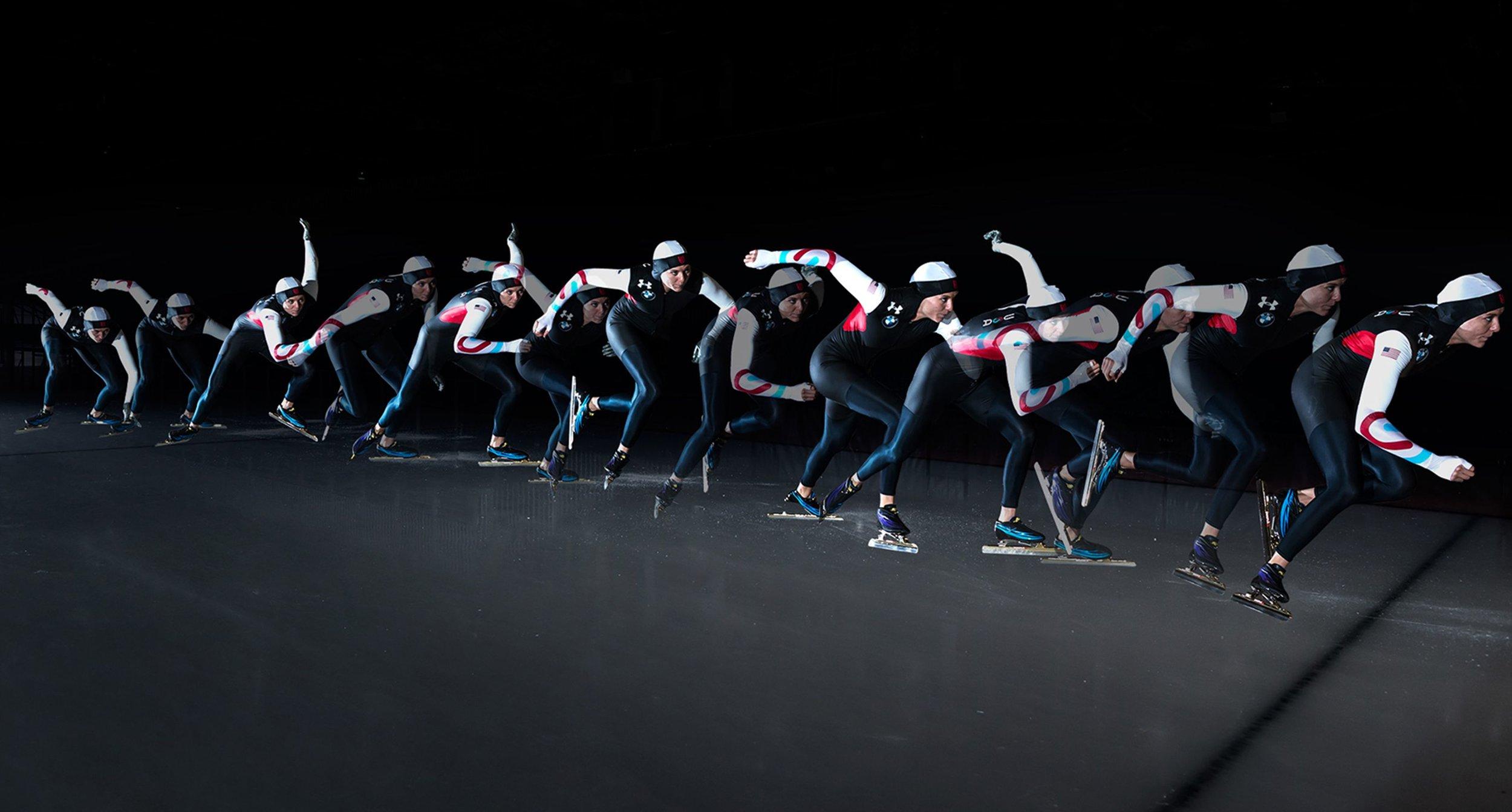 Time-lapse Skater