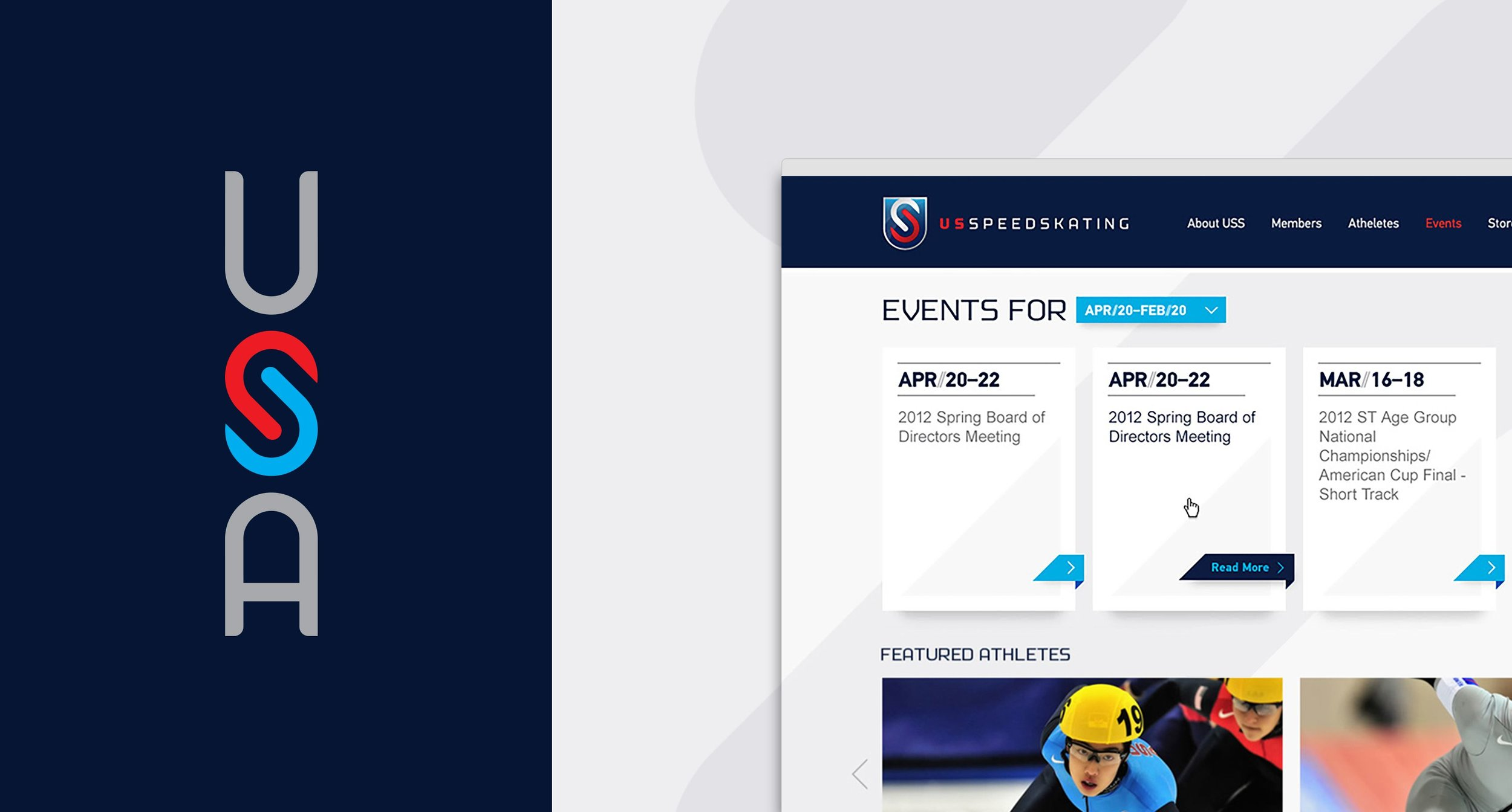 Logo and Event Page