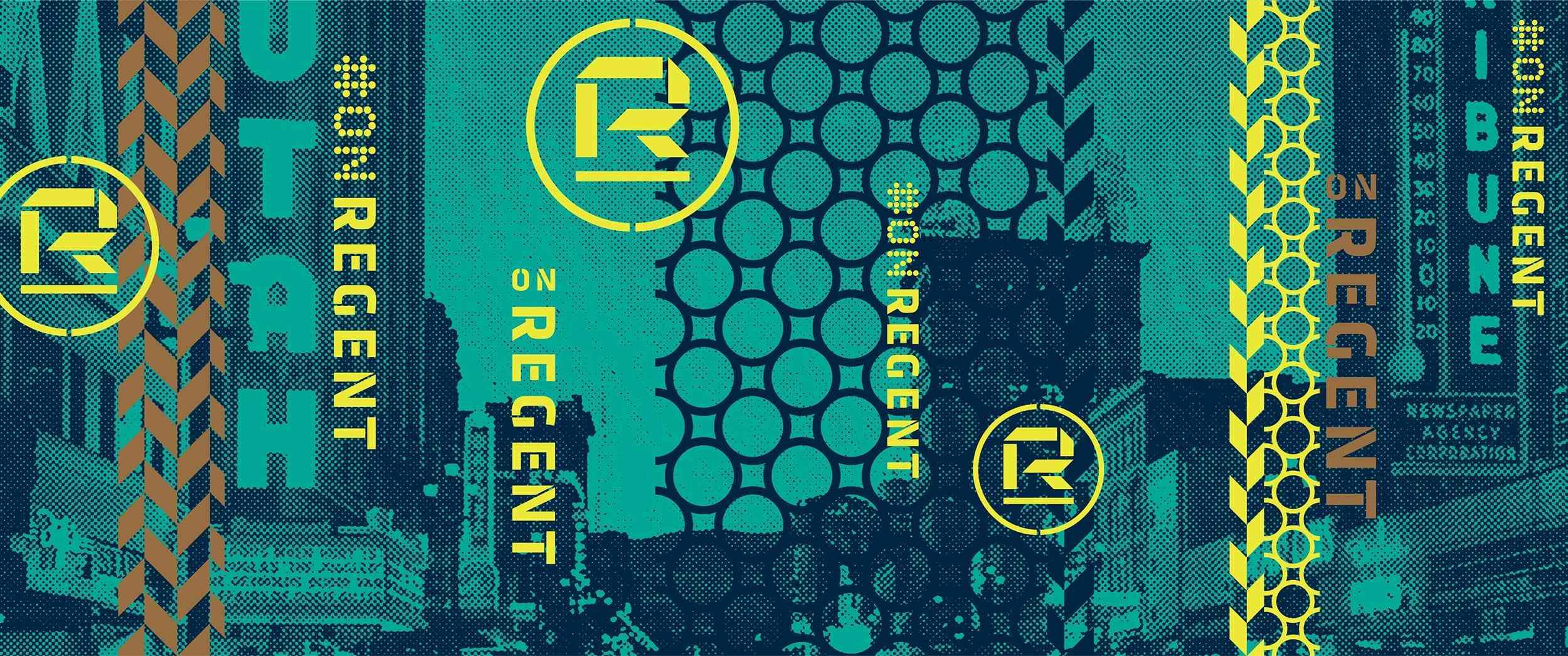 #OnRegent and R Logo Artboard