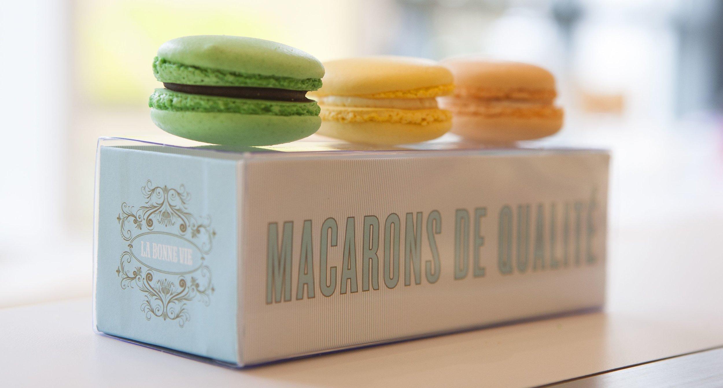 La Bonne Vie Macaron Package Design