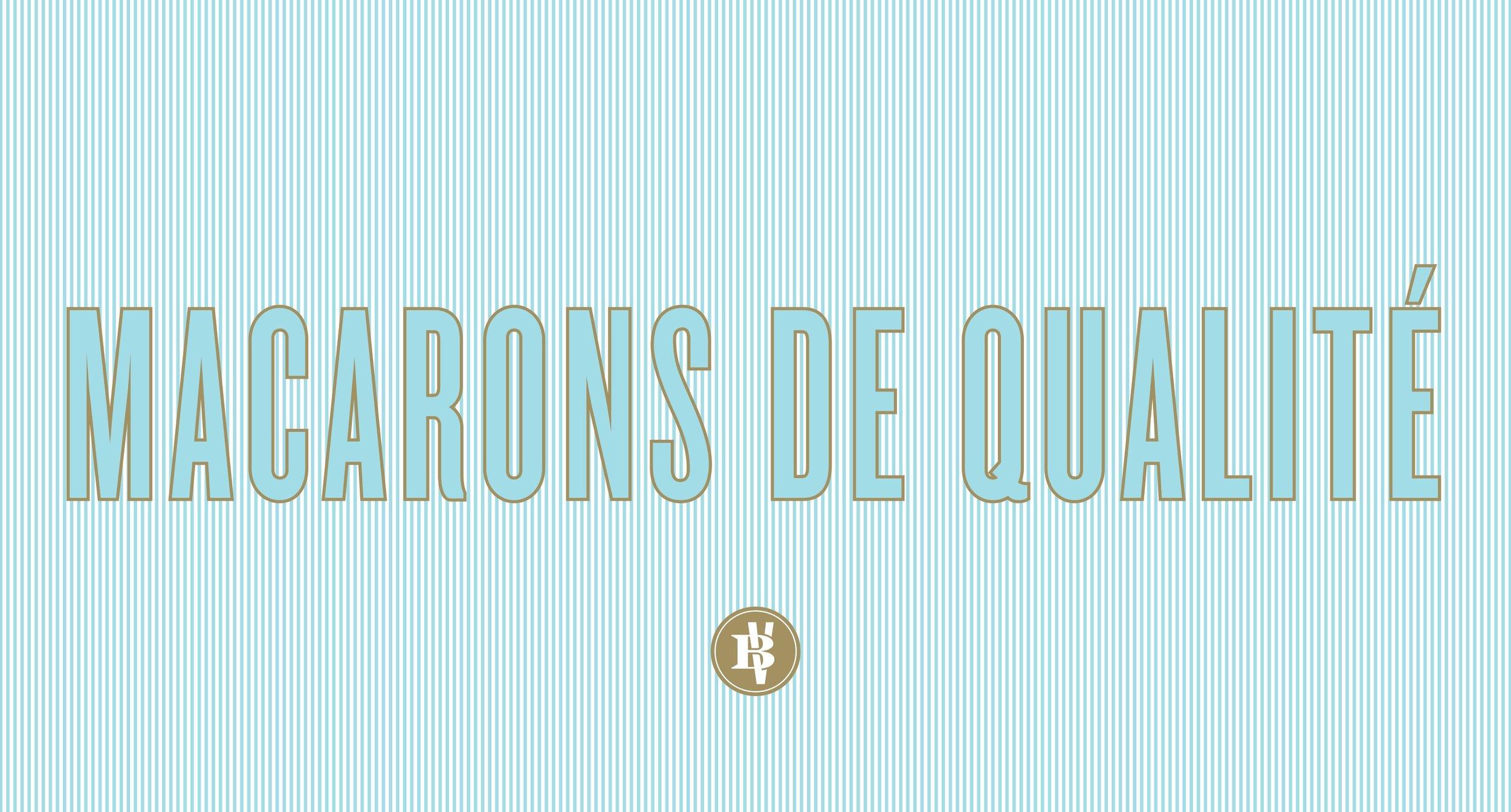 Close Up Macarons De Qualte