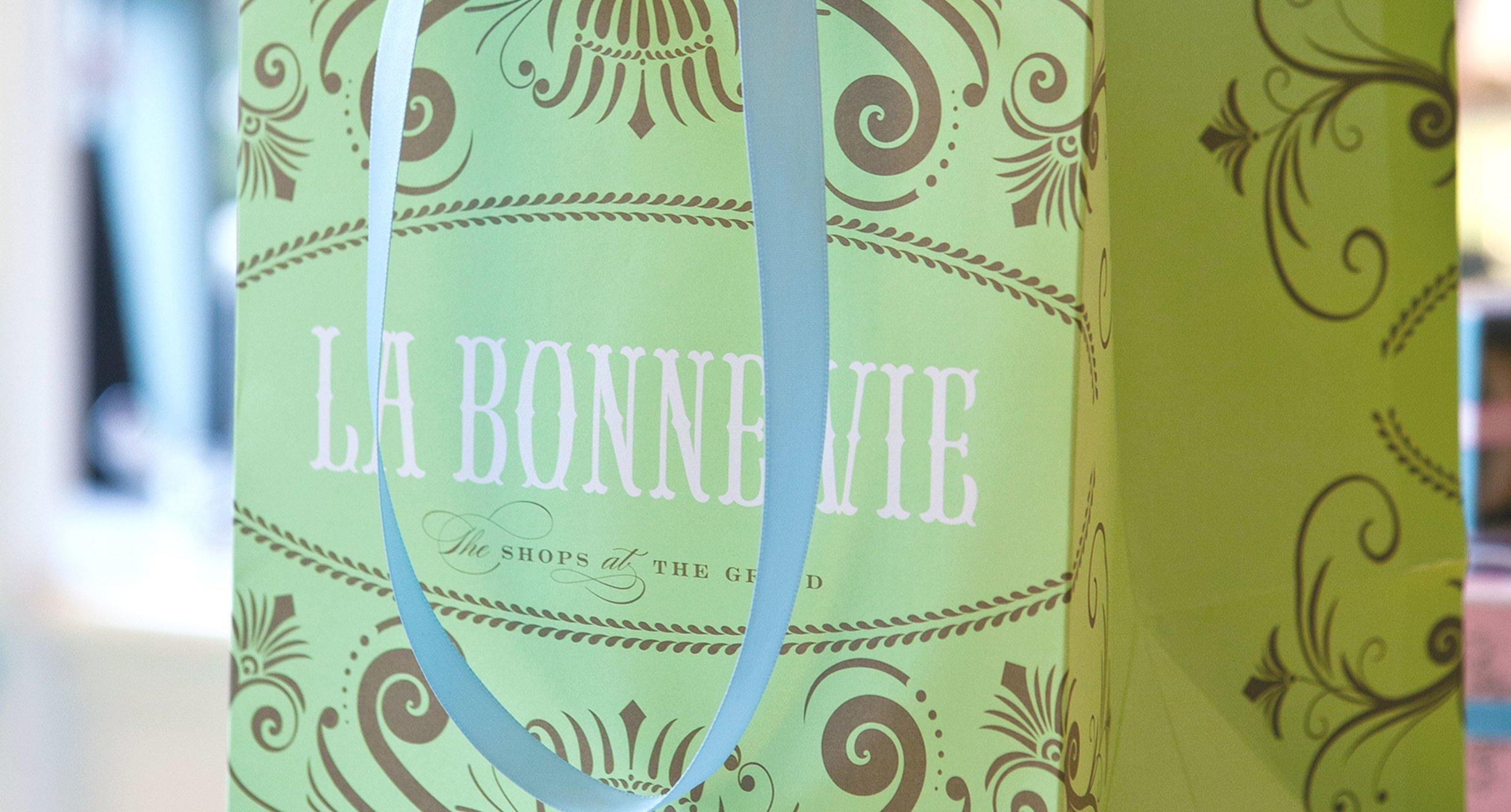 La Bonne Vie Shopping Bag