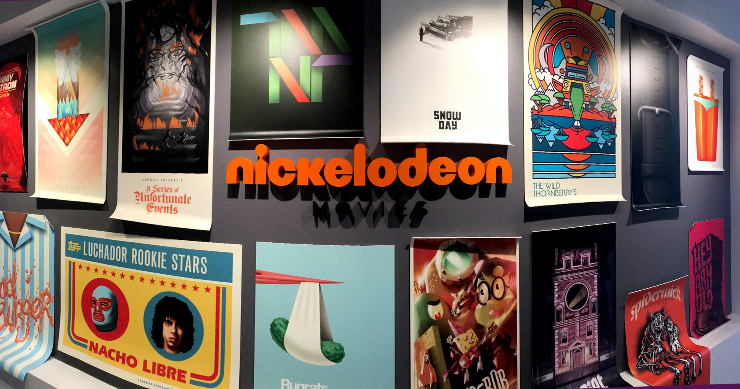 Nickelodeon Movies Poster Wall