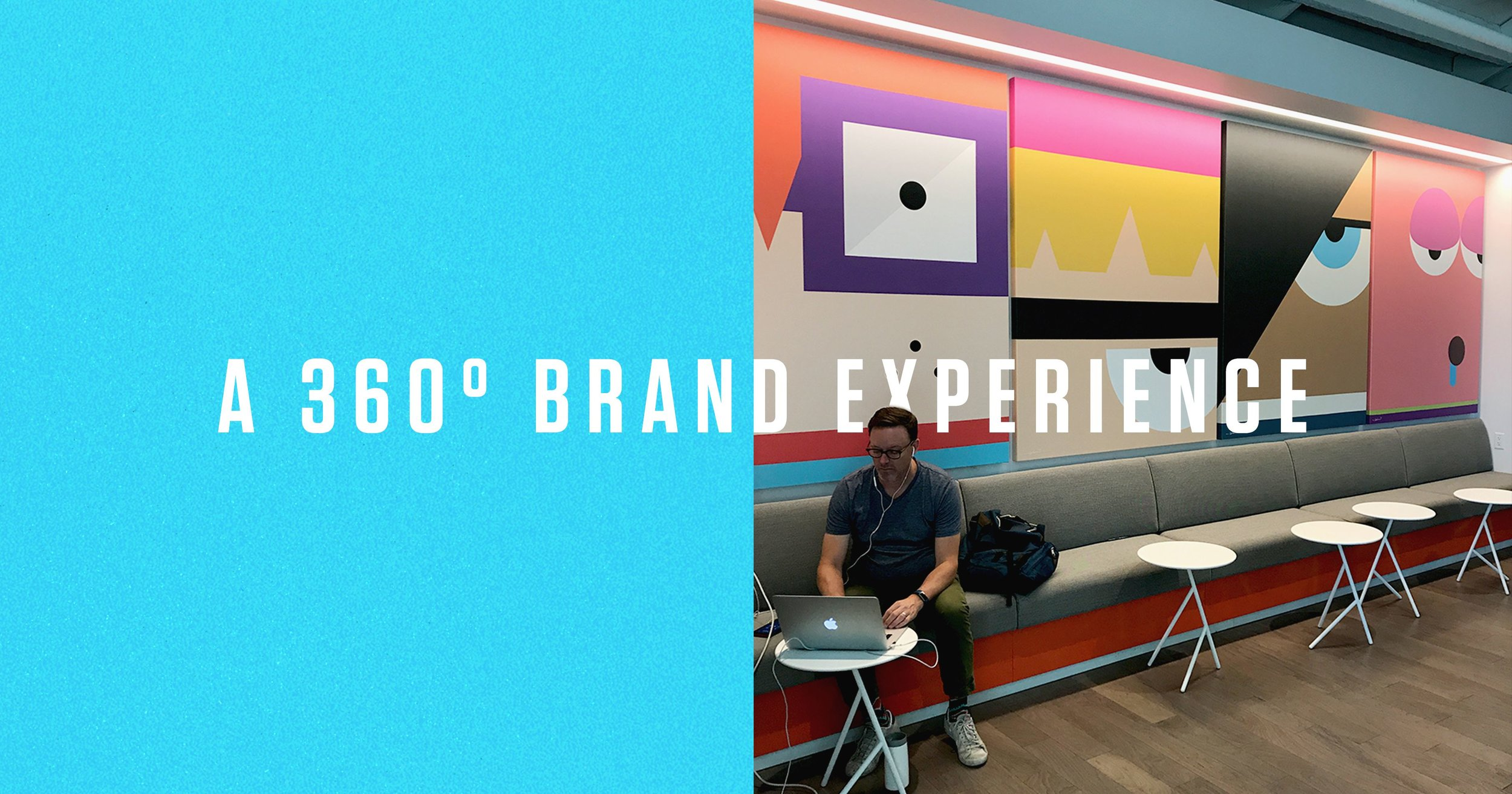 360 Degree Brand Experience and Character Waiting Room