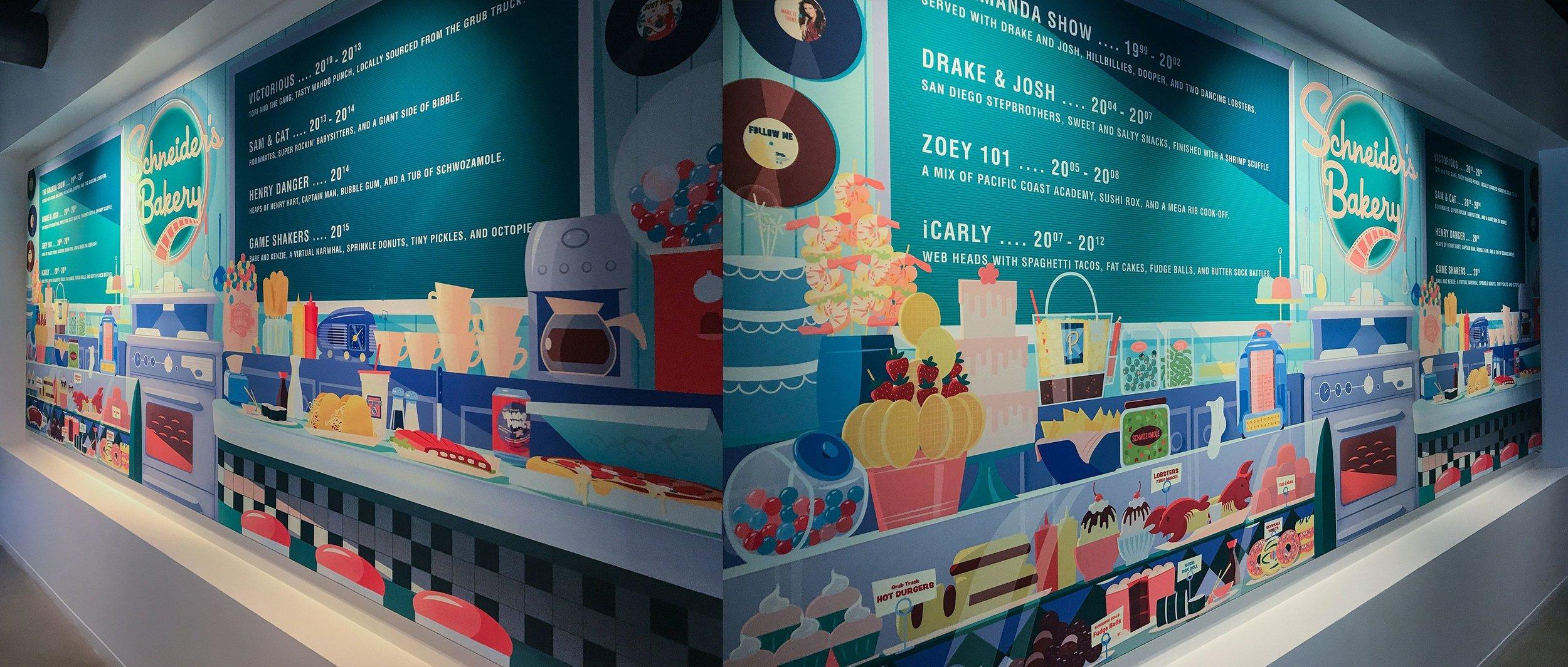Schneider's Bakery Wall