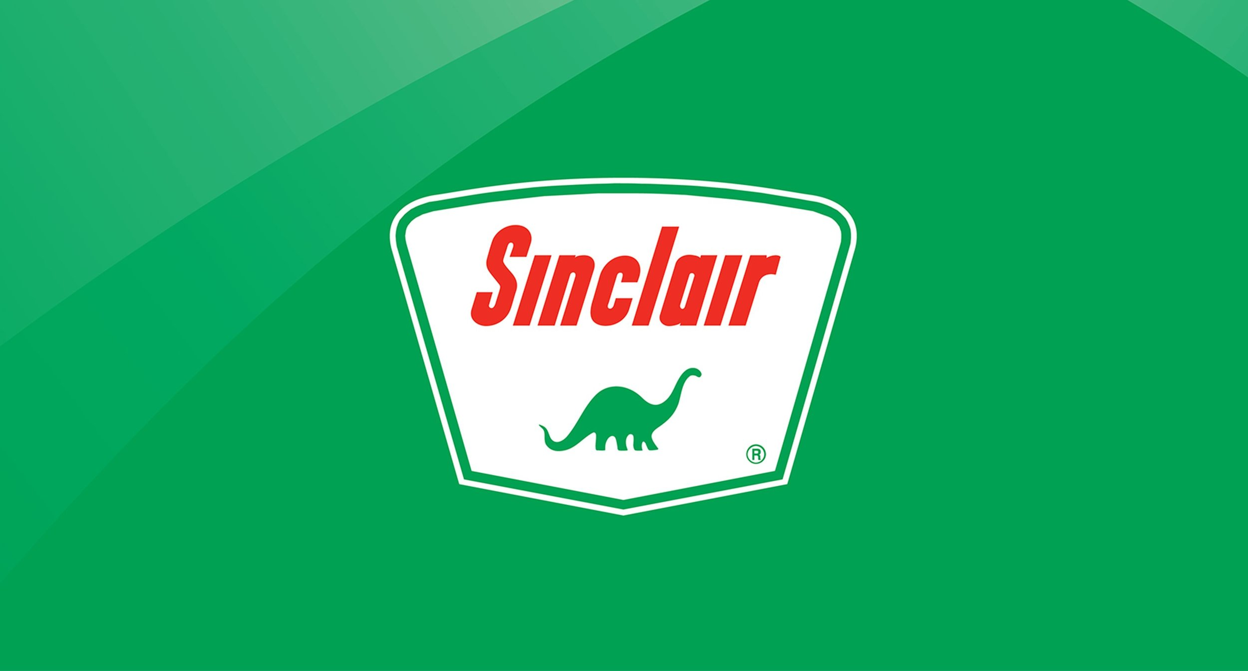 Sinclair Logo on Green Background