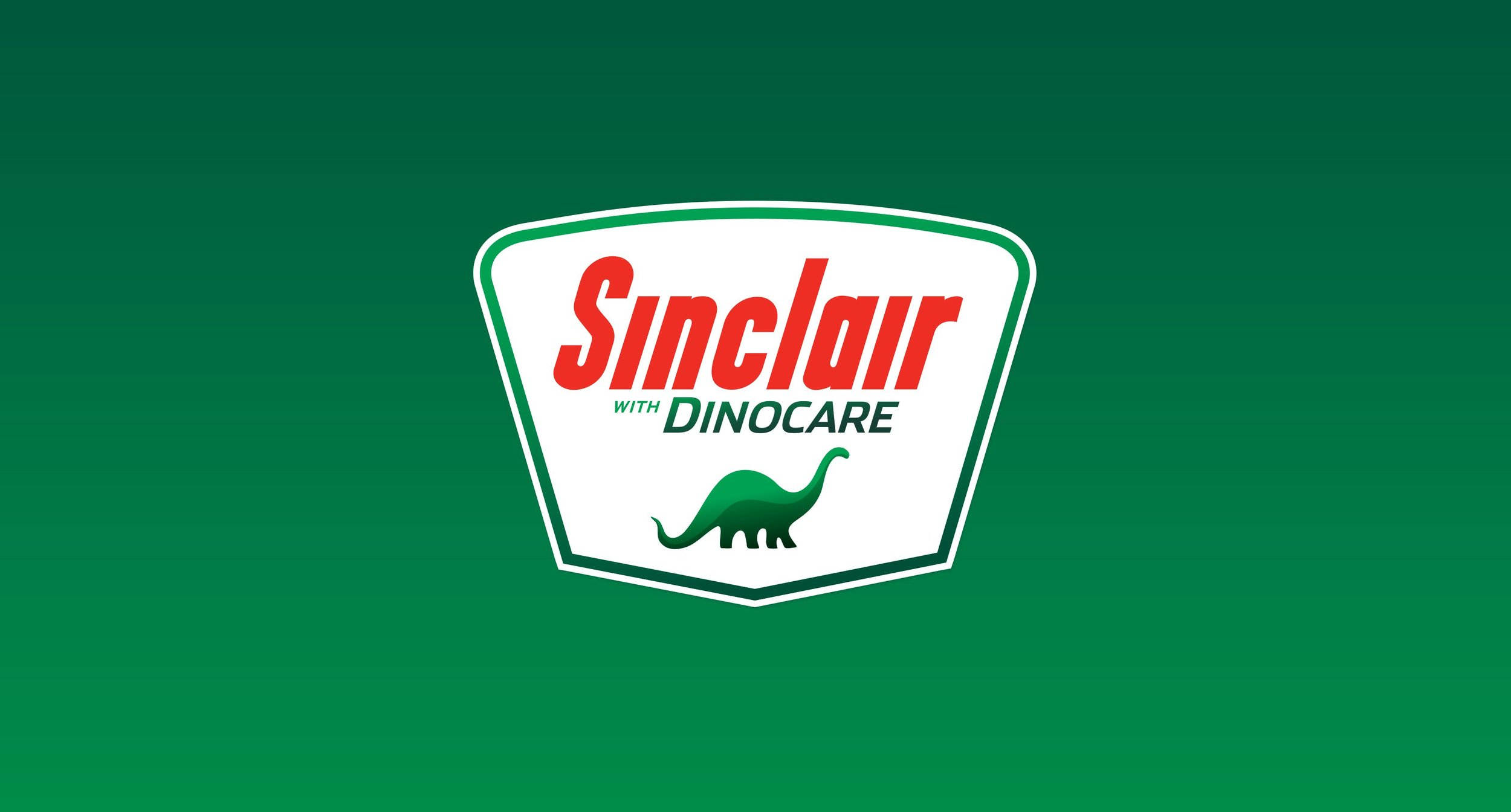 Sinclair with DinoCare Traditional Dinosaur logo