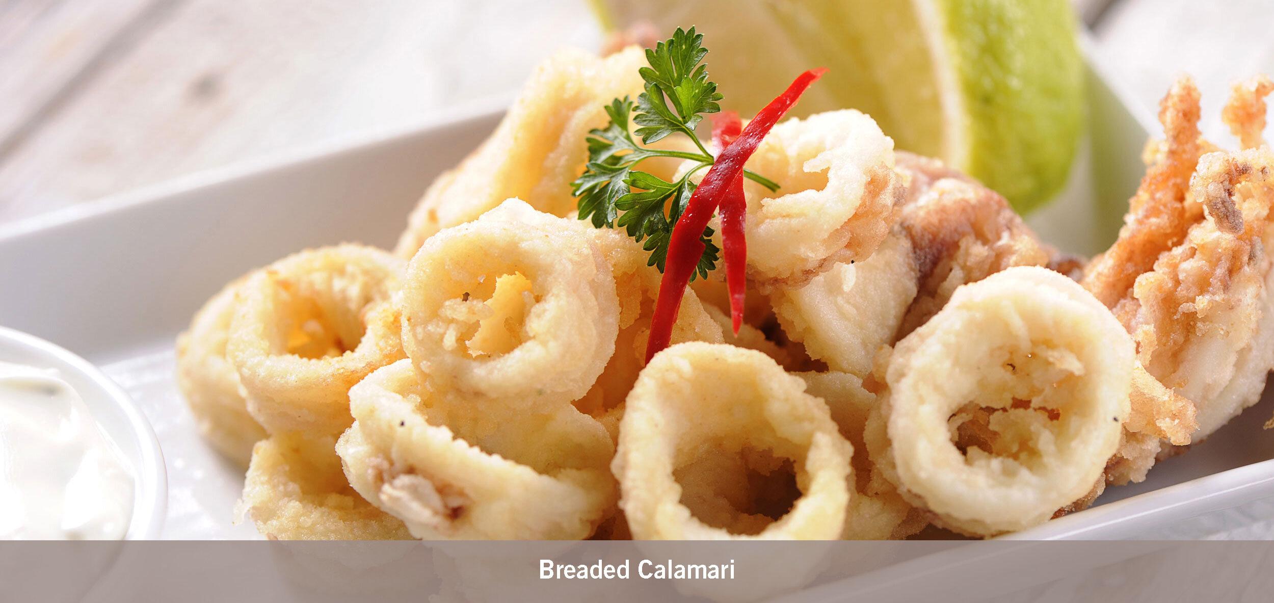Breaded Calamari