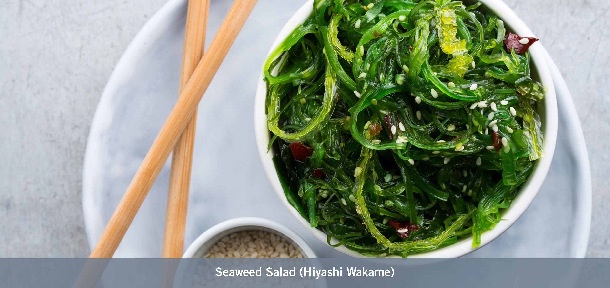 Seaweed Salad (Hiyashi Wakame)