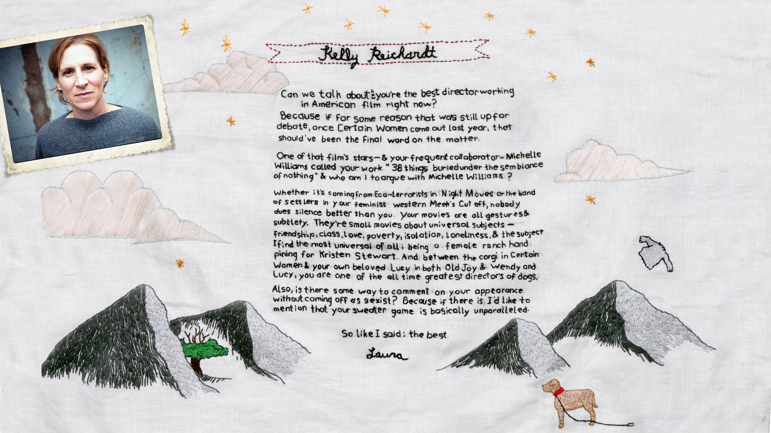 Art by   Debbie Carlos  (  @DebbieCarlos  ) Letter by   Laura Kittrell   (  @LauraKittrell  )