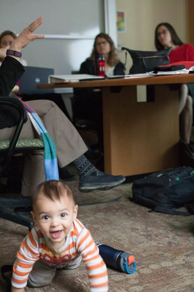 The Southern Kenai Peninsula Resilience Coalition's leadership team met with us to give us updates on the communications plan and more. ARI Director Laura Norton-Cruz's baby, Rio, joined in for many of the meetings and tours.